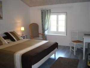 Une chambre avec tout le confort nécessaire