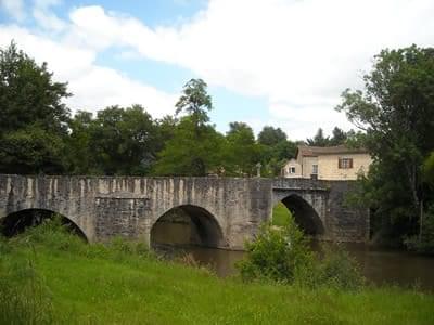 Le pont rompu - Solignac
